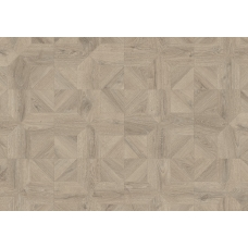 Ламинат Quick Step Impressive Patterns IPA4141 Дуб Серый Теплый брашированный
