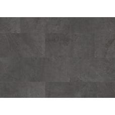 Виниловый замковой пол Quick Step Alpha Vinyl Tiles AVST40035 Сланец  Чёрный